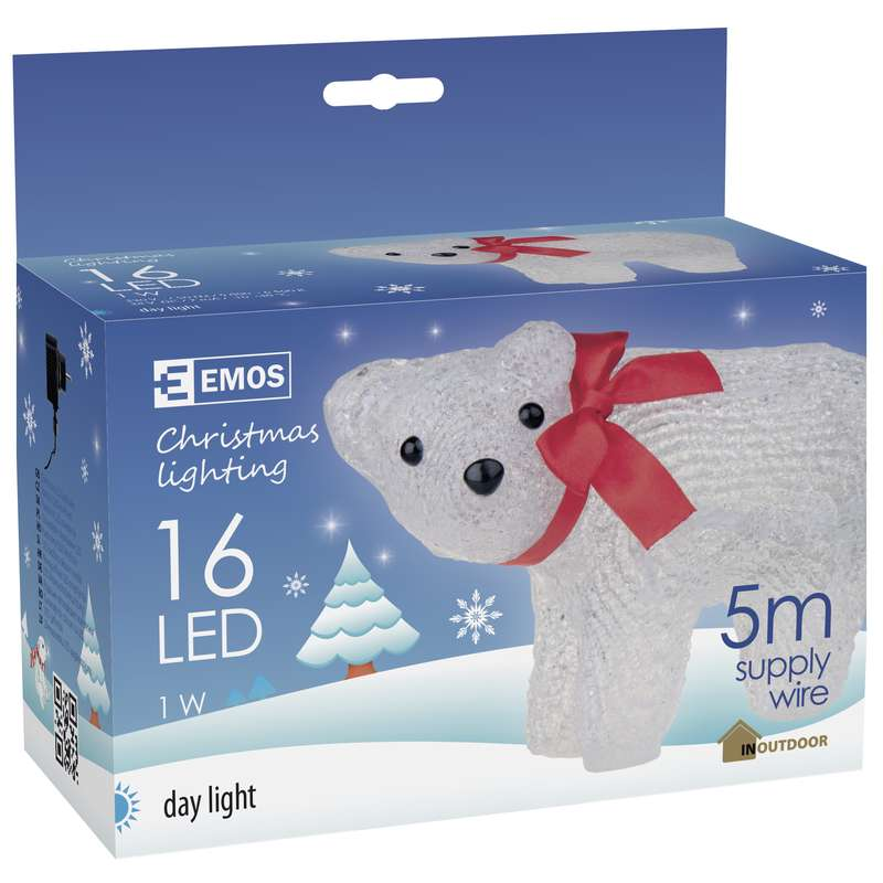Figurina ursulet polar LED